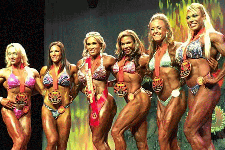 Penprakhai Tiangngok professional fitness queen in USA